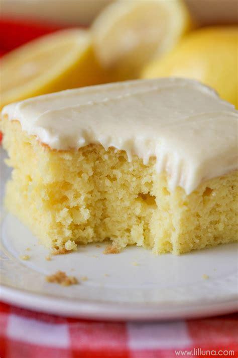 lemon sheet cake lil