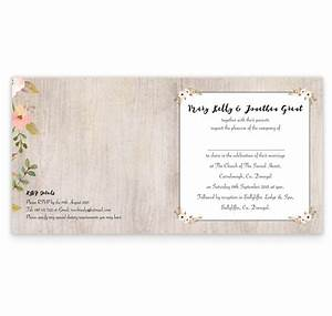 rustic horizon folding wedding invite loving invitations With rustic horizon wedding invitations