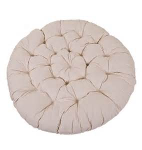 papasan cushion ecru 163 115 00 163 115 00 papasanchair co uk