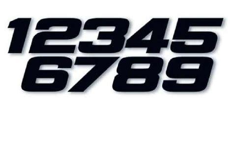 Numéros De Course Moto Cross Us