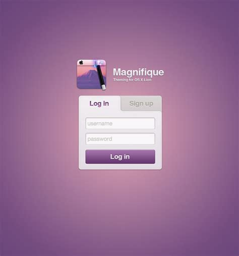 login page design inspirations all about web designs ui
