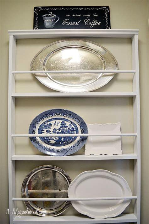 diy custom plate rack   magnolia lane diy plate rack wall mount plate rack plate