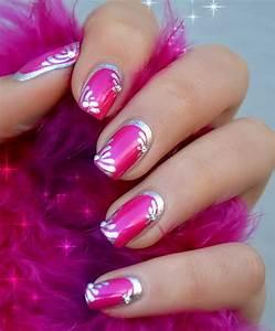 Creative pink nail designs for women design ideaz