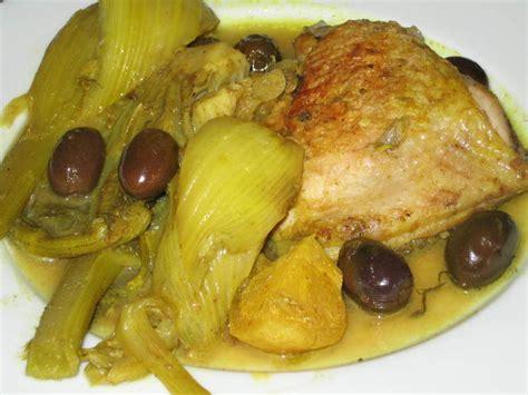 cuisine du fenouil tajine de poulet au fenouil tajine marocain