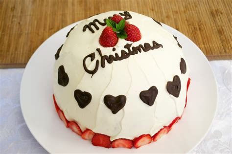 christmas cake little japan mama japanese christmas cake