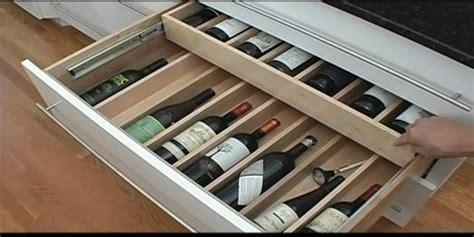 wine drawer insert expandable drawer organizers