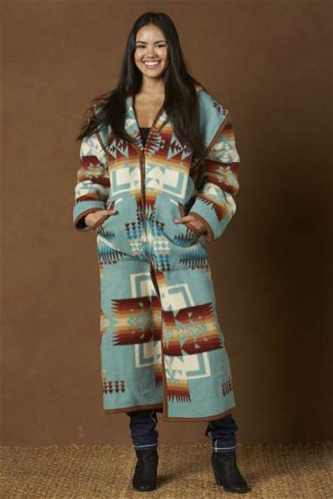 reversible long coat aqua chief joseph kraffs clothing