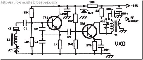 Radio Circuits Blog Universal Vfo For Qrpers
