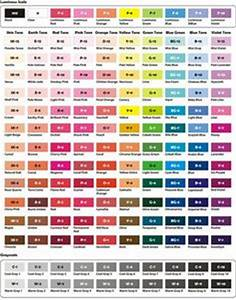 Prismacolor Blank Color Chart 72 Prismacolor Premier Color Charts To Color In And Have As