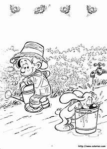 Jardin Dessin Couleur : dessin colorier jardinier jardin ~ Melissatoandfro.com Idées de Décoration