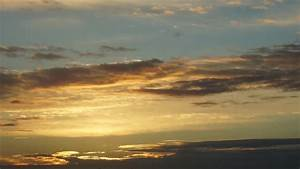 Sunset Sky Clouds Time Lapse Stock Video Motion Array