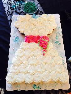 wedding dress cupcakes for bridal shower party time With wedding dress cupcake cake