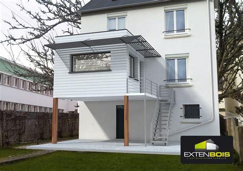 extension en bois sur sur pilotis d une maison dans le finist 232 re 29