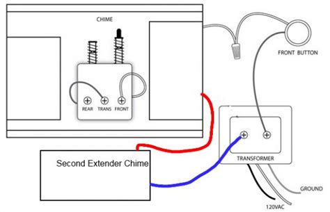 help can i add a second wired doorbell chime this way doityourself community forums