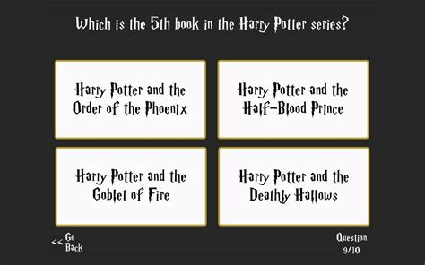 Ultimate Harry Potter Trivia  Android Apps On Google Play