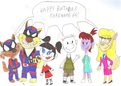 Birthday Gift For Rareware64 By Sithvampiremaster27 On