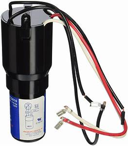 Hard Start Kit 3 In 1 Capacitor 115v Compressor