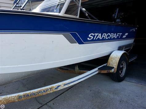 Aluminum Fishing Boats Spokane Washington by 1996 Used Starcraft Superfisherman 190 Aluminum Fishing