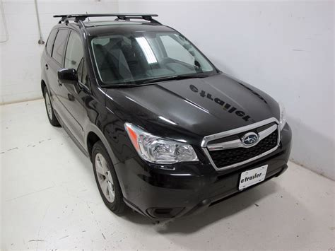 subaru forester roof rack roof rack for subaru forester 2014 etrailer