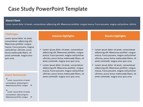 powerpoint  templates  case study