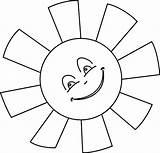 Sun Coloring Sunshine Colouring Sheet sketch template