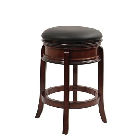 "Boraam Magellan 24"" Swivel Counter Stool in Brandy   43024"