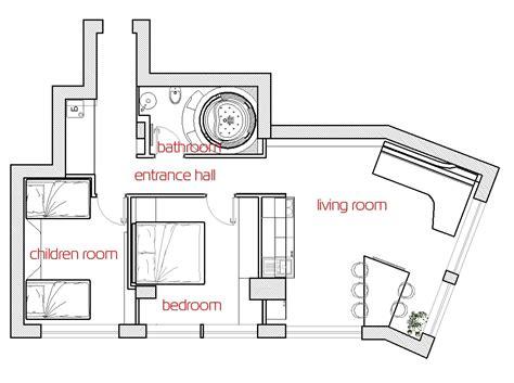 Interior Floor Plans by Futuristic Interior Design