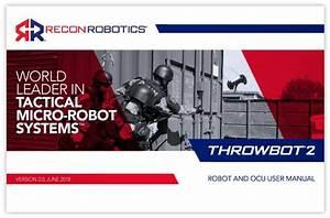 The Throwbot U00ae 2  Tb2  Robot Is A Throwable Micro