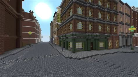 minecraft victorian london public house pub steampunk style youtube