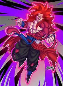 Son, Goku, Super, Saiyan, 4, Limit, Breaker, By, Ronniesolano, On