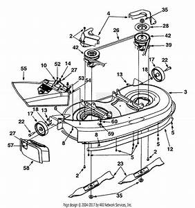 Mtd 13bh670f062  2001  Parts Diagram For Deck Assembly  U0026quot F U0026quot