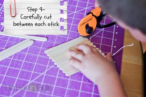 Diy Craft Stick Puzzles