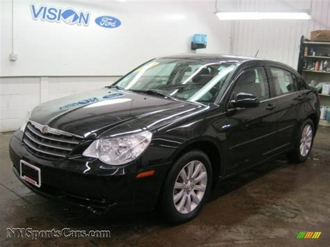 chrysler sebring limited sedan  brilliant black