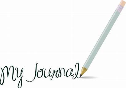Journal Clip Clipart Vector Pencil Science Clker