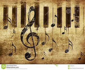 Vintage Musical Piano Background Stock Photo - Image: 27920470