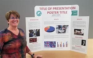 Tri-Fold Presentation Displays