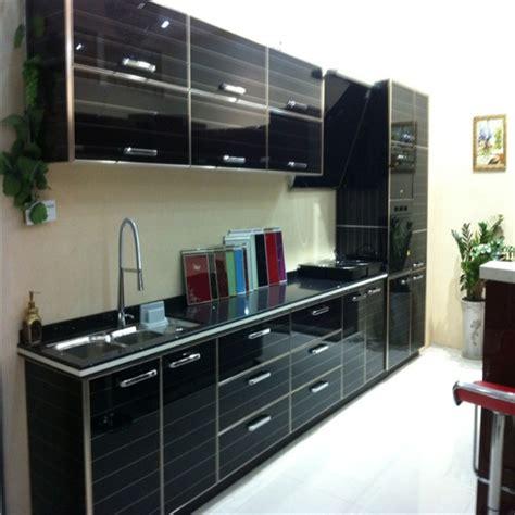 muebles de cocina modernos de melaminapuertas de cristal