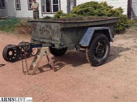 jeep utility trailer armslist for sale military jeep trailer army utility
