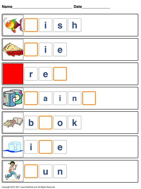spelling images free printable spelling worksheets