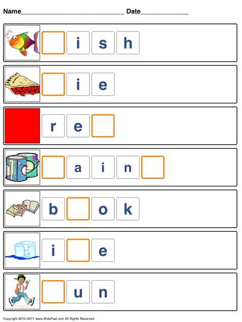spelling packets kids activities