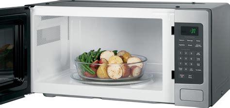 pemsfss ge profile  cu ft microwave oven countertop  built  stainless steel