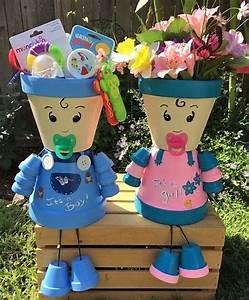 Creation Avec Des Pots De Fleurs : cr ations personnages en pots de fleurs pot terre cuite ~ Melissatoandfro.com Idées de Décoration