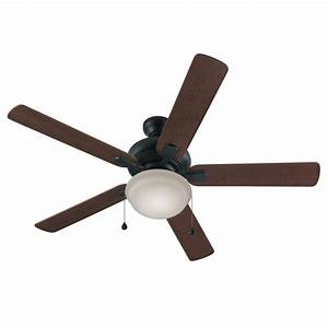 Harbor breeze ceiling fan light kit lowes : Harbor breeze caratuk river in bronze downrod or