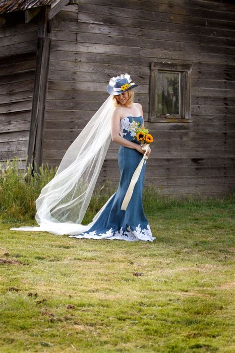 25 best ideas about denim wedding dresses on pinterest