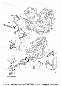 Yamaha Side By Side 2009 Oem Parts Diagram For Oil Pump