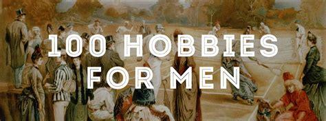 hobbies  men gentlemans gazette