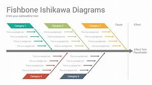 Fishbone Ishikawa Diagrams Powerpoint Template Designs