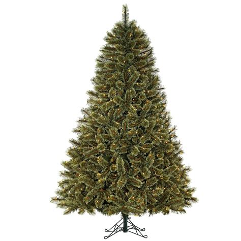christmas tree cashmere ty pennington style 11b19ytt075a1 7 5ft mixed pine tree with 600 clear