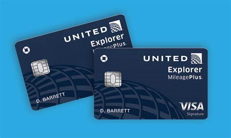 united mileageplus explorer credit card  review