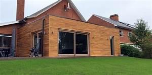 Prix Extension Bois 40m2 : maison en bois 40m2 maison parallele ~ Nature-et-papiers.com Idées de Décoration